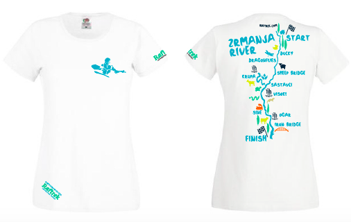 Raftrek Travel | Zrmanja t-shirt women